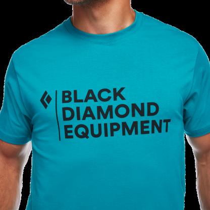 Black Diamond M STACKED LOGO TEE