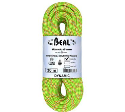 Beal Rando 8.0mm, Golden Dry 30 metri