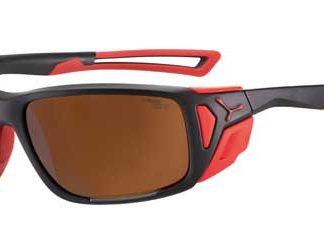 Cébé PROGUIDE Matte Black Red - Zone Brown Silver AF categoria 4 Cebe
