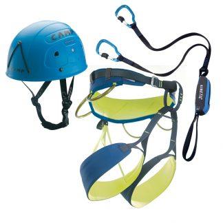 Camp Kinetic + imbrago e casco